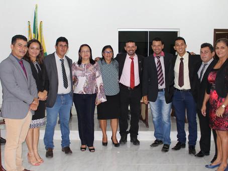 Câmara recebe visita da Secretária Municipal de Educação