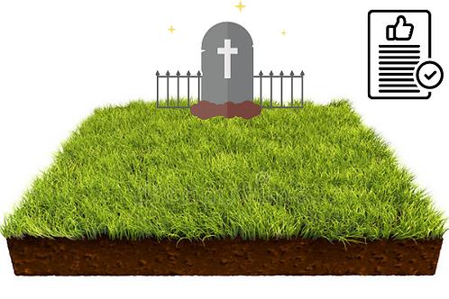 Regularização de Concessão de Terra em Cemitérios Públicos