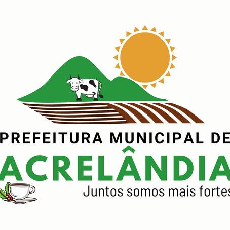 Prefeitura divulga nova logomarca e slogan da gestão Olavinho Boiadeiro