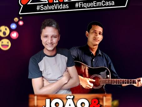 Projeto Live Canta Xapuri, hoje, 29 de maio de 2020 as 19 horas com João & Marquinhos