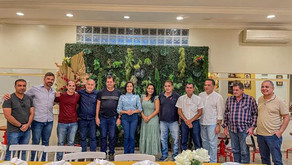 Prefeito Kiefer Cavalcante aproveita encontro com Mailza Gomes e reivindica recursos