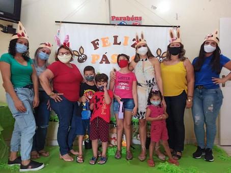 CRAS Chico Mendes promove comemoração alusiva ao Dia da Páscoa