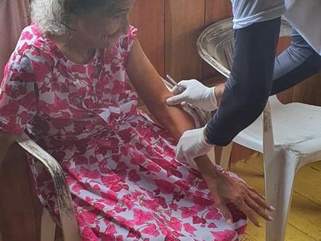 Campanha de vacinação contra a covid-19 avança em Marechal Thaumaturgo