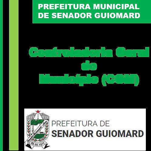 ORIENTAÇÃO CGM Nº 001/2019