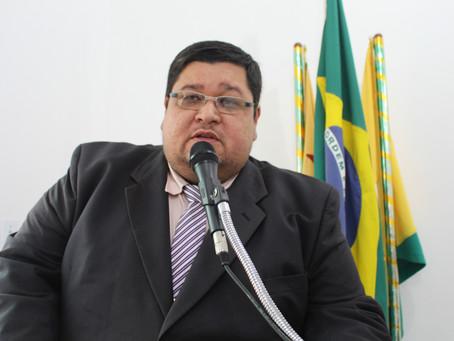 Fabricio Lima fala das emendas do deputado federal Major Rocha alocadas ao município