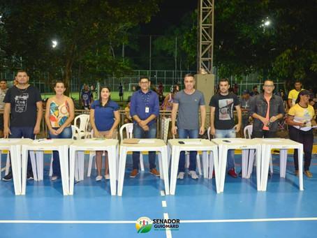André Maia prestigia final do campeonato municipal Sub-20 e Escolha da Musa Quinari no SESC