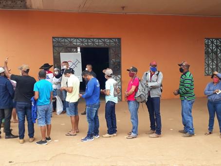 Vacinação contra a covid-19 continua em Bujari para pessoas acima de 40 anos