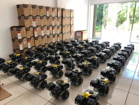 Gestão Zezinho Barbary adquire equipamentos para beneficiar comunidade e produtores rurais