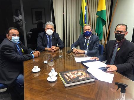 Prefeito cumpre agenda em Brasília-DF em busca de recursos para educação, saúde e infraestrutura