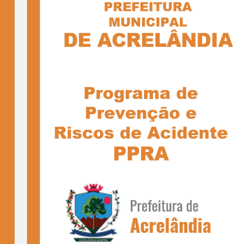 PPRA - Programa de Prevenção de Riscos Ambientais (Administração e Finanças)