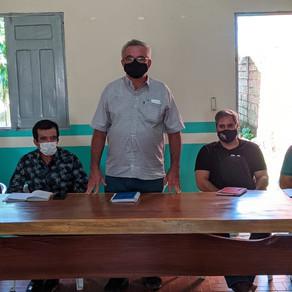 Colônia de pescadores Z9 realiza reunião com prefeito Camilo e representantes do BASA, Emater e SEPA