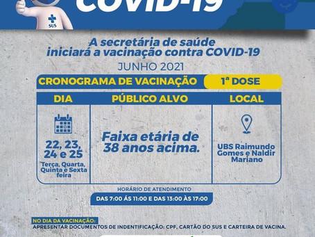 Prefeitura de Marechal Thaumaturgo segue o 1° lugar no ranking estadual de vacinação contra a covid