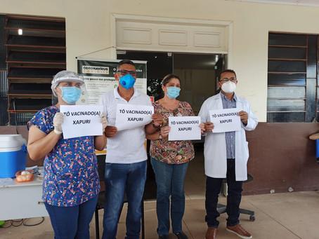 Com emoção e esperança, Prefeitura de Xapuri inicia Campanha de Vacinação contra a COVID-19