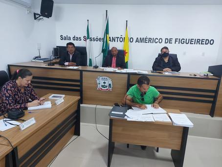 Vereadores realizam a quadragésima sessão ordinária e votam LDO e LOA 2021