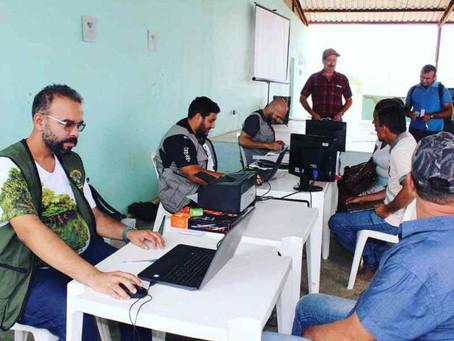 Prefeito Ederaldo Caetano acompanha equipe de Meio Ambiente no atendimento aos produtores rurais