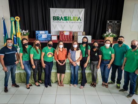 Prefeita Fernanda Hassem participa de abertura do ano letivo 2021