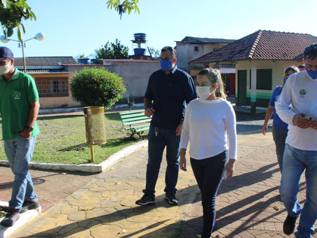 Prefeitura de Brasileia realiza limpeza e desinfecção de locais públicos em combate à Covid-19