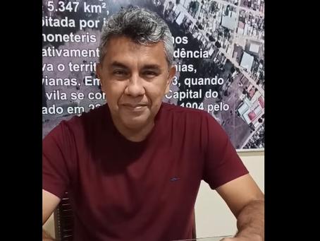Bira Vasconcelos anuncia editais da Lei Aldir Blanc aos fazedores de cultura de Xapuri