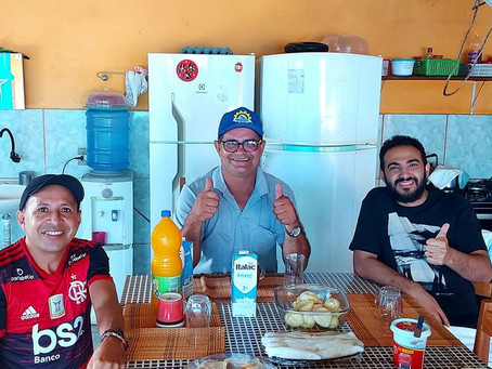 Prefeito Tanísio Sá recebe representante da Santa Casa da Amazônia e abre diálgo para parcerias