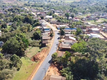 Prefeitura de Brasileia realiza recapeamento asfáltico no Bairro Ferreira Silva