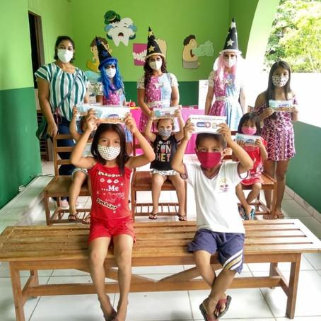 Saúde na escola: Projeto dentinho feliz ensina crianças cuidados com a saúde bucal