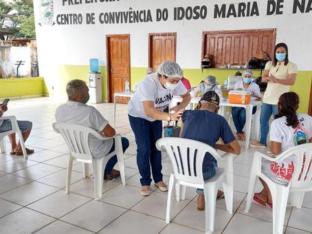 Senador Guiomard é o segundo município do Acre que mais vacinou contra a Covid 19
