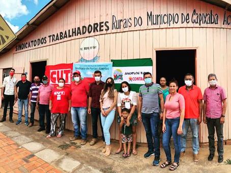 Câmara ressalta importância do Sindicato dos Trabalhadores Rurais de Capixaba
