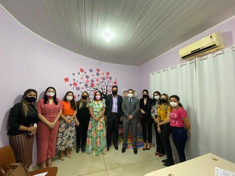 Delegacia inaugura sala de atendimento para mulheres vítimas de violência, com apoio da Prefeitura