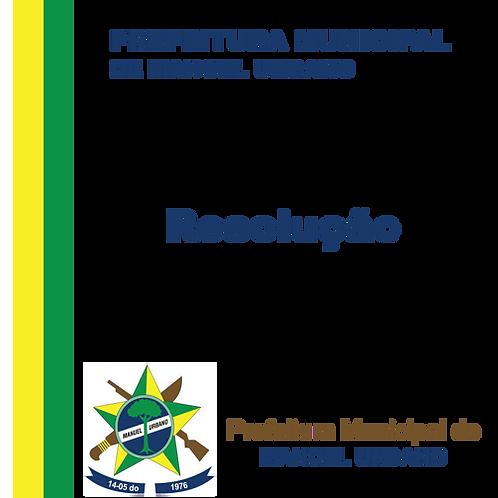 Resolução 006/2020 Aprovar o termo de aceite que trata do financiamento estadual