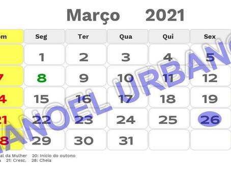 Prefeitura paga servidores municipais dentro do mês trabalho (março de 2021)