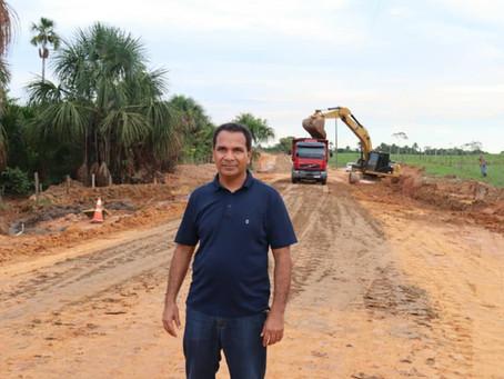 Prefeitura inicia obras de pavimentação do ramal do 13 de Maio/Profeta