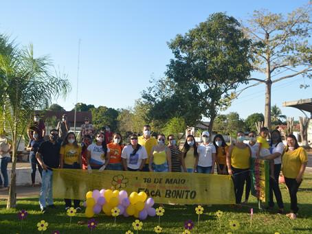 Xapuri promove passeata em alusão ao dia 18 de maio - Campanha Faça Bonito