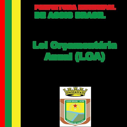 LOA 2020 - Lei N° 542/2020