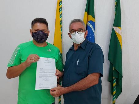 Vereador Edilson Braga faz solicitação ao prefeito Camilo Silva para recuperação do Ramal Samaúma