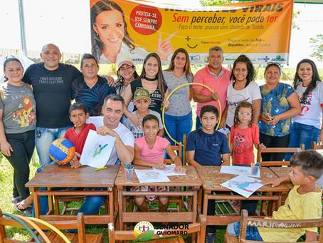 Saúde Itinerante da Prefeitura de Senador Guiomard realiza mais uma edição no ramal Nabor Júnior