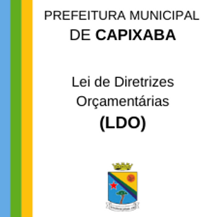 LDO 2017 - Lei n°  464/2016
