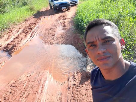 Felipe Pacheco pede providências para melhoria do ramal Antônio Costa km 12