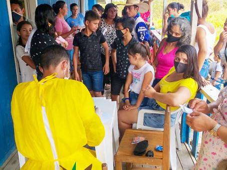 Secretaria Municipal de Saúde oferece atendimento médico no PSF Milton Augusto