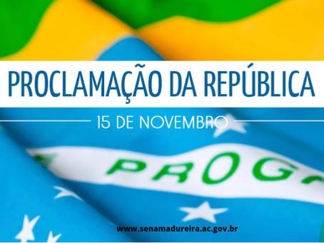 15 de novembro Proclamação Da República