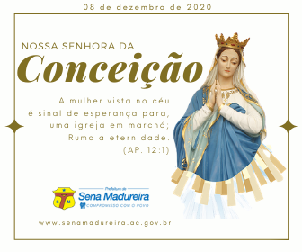 08 de dezembro Nossa Senhora da Conceição