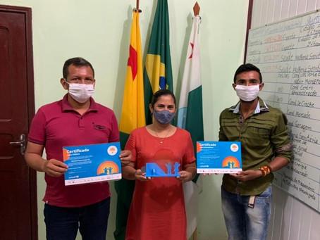 Marechal Thaumaturgo recebe kit de certificação de município SELO UNICEF aprovado (edição 2017/2020)