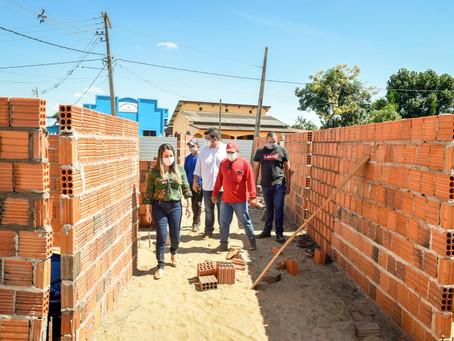 Prefeitura de Brasileia segue com construção da sede própria do CREAS