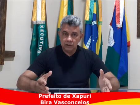 Prefeito explica campanha de vacinação contra covid que acontece no sábado