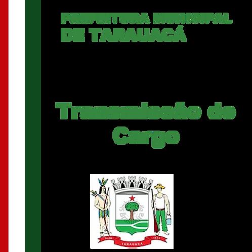 Ata de Transmissão de Cargo de Prefeito 07/10/2020