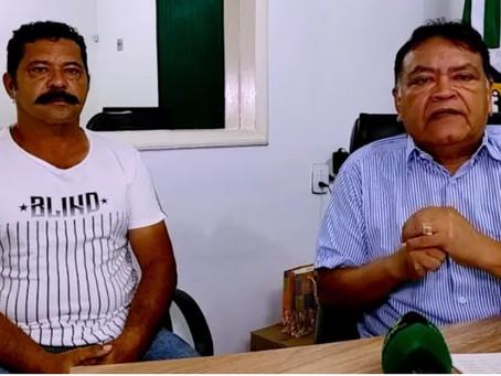 Tião Flores e Raimundão, anunciam pagamento de salário de dezembro dos servidores municipais
