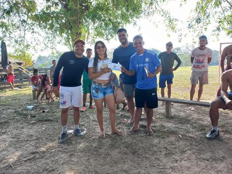 Vereadores promovem atividade esportiva no Seringal Vila Nova com a comunidade