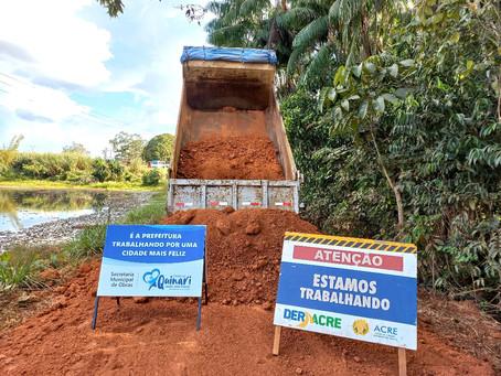 Prefeitura de Senador Guiomar celebra investimento na Bonal