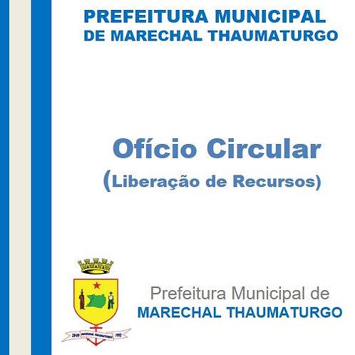 Ofício Circular N° 012/2020 - Aquisição de Maquinário