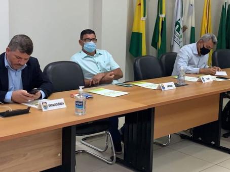Prefeito Bira participa de agenda na Amac sobre recuperação e revisão de receitas públicas e emendas