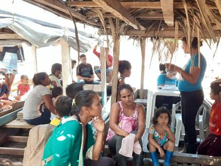 Prefeitura leva atendimento itinerante de saúde a 106 famílias murbanenses